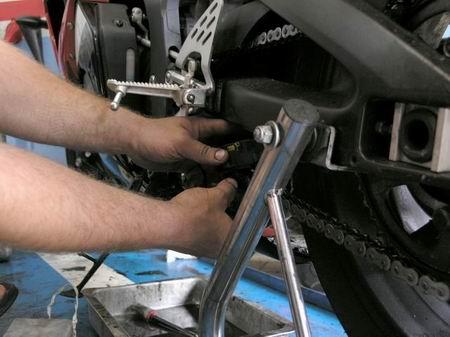 Чистка цепи мотоцикла своими руками